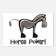Horse Power! Postcards (Package of 8)