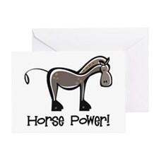 Horse Power! Greeting Card