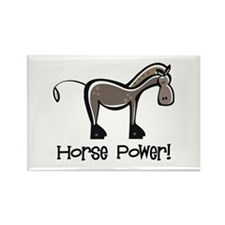 Horse Power! Rectangle Magnet