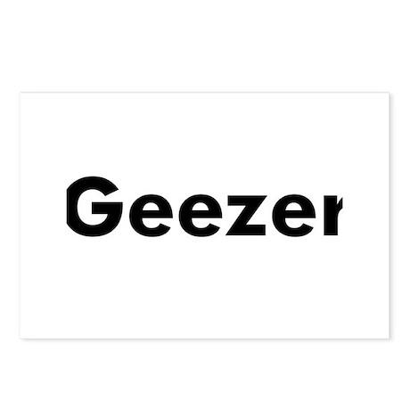 Geezer Postcards (Package of 8)