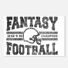 Unique Fantasy football Postcards (Package of 8)