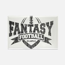 Funny Fantasy football champion Rectangle Magnet