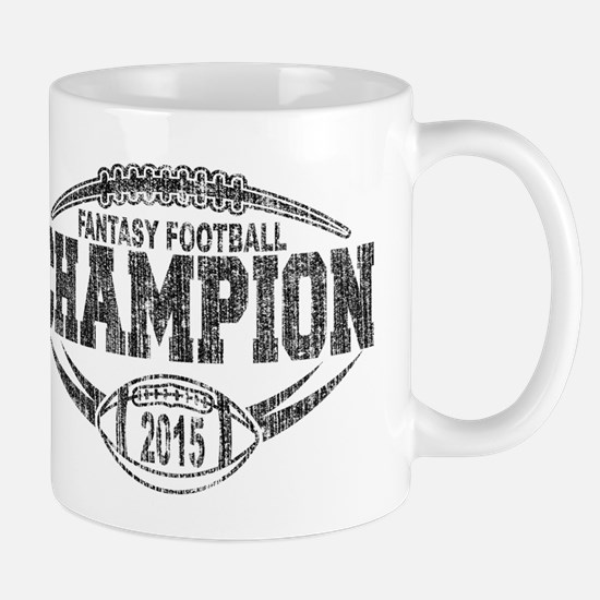 2015 Fantasy Football Champion Mugs