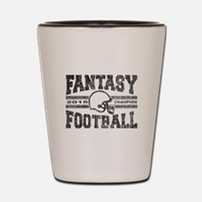 2015 Fantasy Football Champion Shot Glass