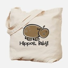 Hippos, Baby! Tote Bag