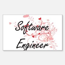 Software Engineer Artistic Job Design with Decal