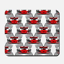 RED RACECAR Mousepad