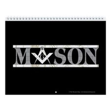 The Master Masons Wall Calendar