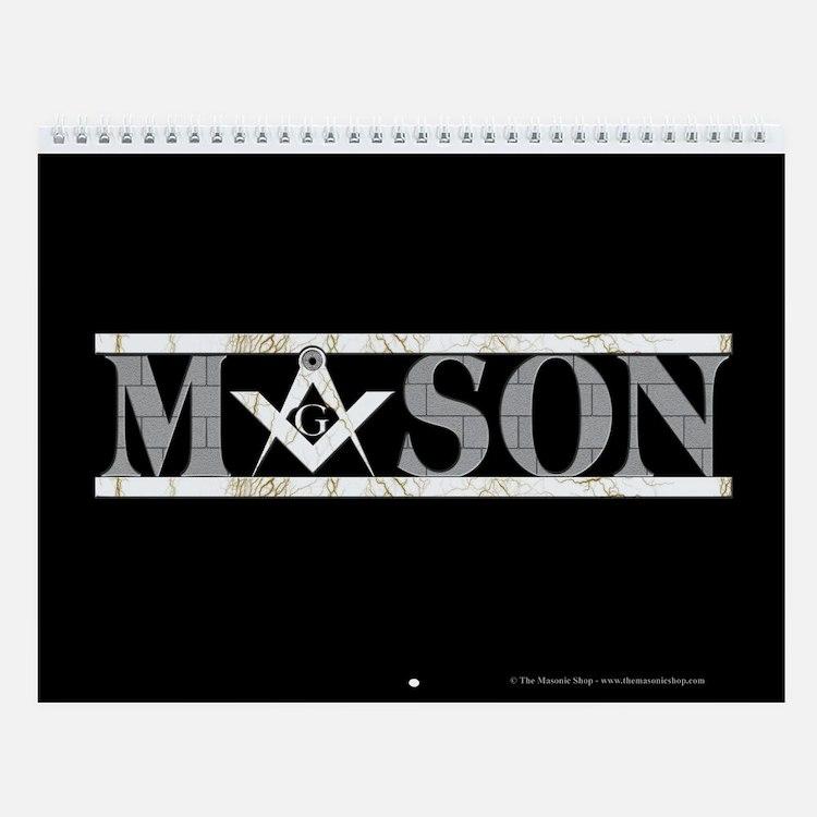 The Master Masons Wall Calendar