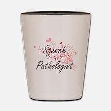 Speech language pathologist Shot Glass