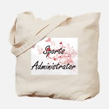 Sports Administrator Artistic Job Design Tote Bag
