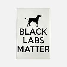 Black Labs Matter Magnets
