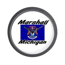 Marshall Michigan Wall Clock