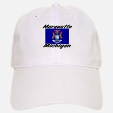 Marquette Michigan Baseball Baseball Cap