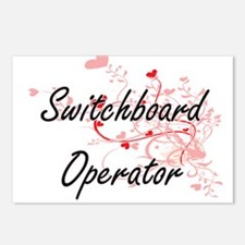 Switchboard Operator Arti Postcards (Package of 8)