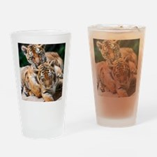 BABY TIGERS Drinking Glass