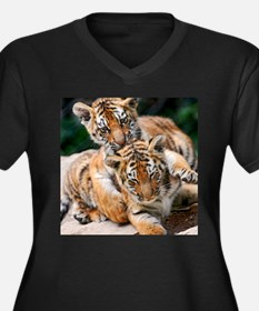 BABY TIGERS Plus Size T-Shirt