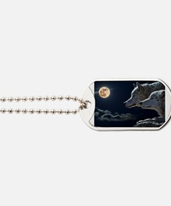Unique Animal wolf Dog Tags