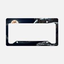 Funny Wolf License Plate Holder