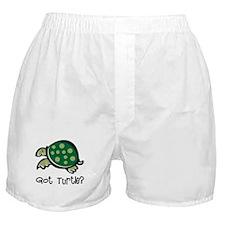 Got Turtle? Boxer Shorts
