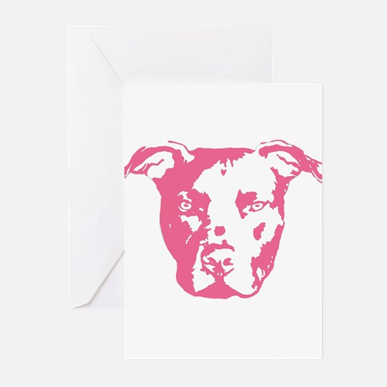 American Pit Bull Terrier Greeting Cards (Package