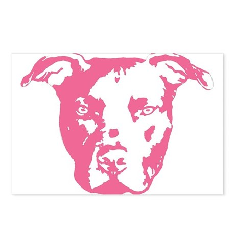 American Pit Bull Terrier Postcards (Package of 8)
