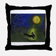 """In Moonlight"" Throw Pillow"