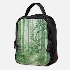 Green Misty Forest Neoprene Lunch Bag