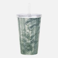 Misty Forest Acrylic Double-wall Tumbler