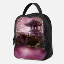 Oriental Garden Neoprene Lunch Bag