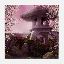 Oriental Garden Tile Coaster