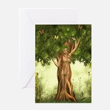 Mother Nature Tree Greeting Card