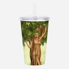Mother Nature Tree Acrylic Double-wall Tumbler