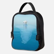 Polar Bear on Iceberg Neoprene Lunch Bag