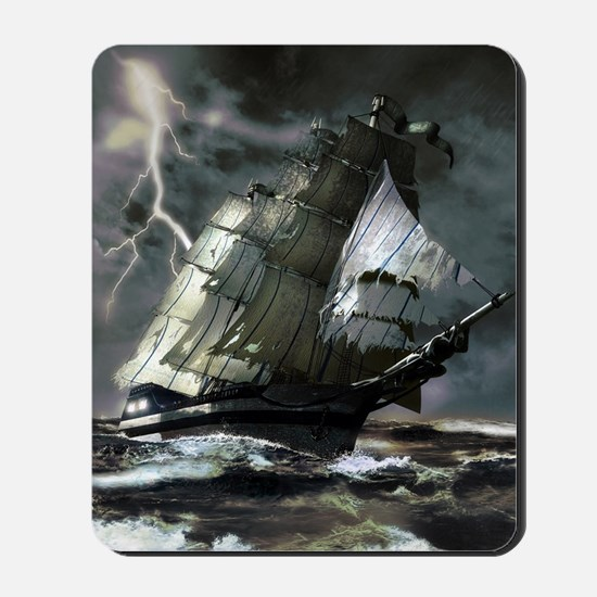 Ghost Ship Mousepad