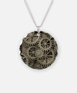 Steampunk Cogwheels Necklace