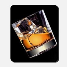 Whisky on the Rocks Mousepad