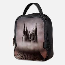 Gothic Castle Ruins Neoprene Lunch Bag