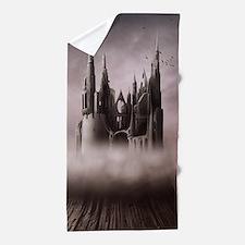 Gothic Castle Ruins Beach Towel
