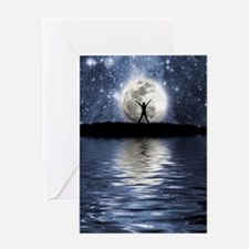 Between Heaven and Earth Greeting Card