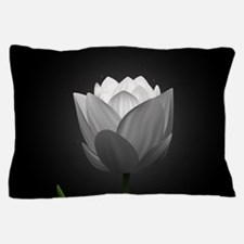 White Tulip Pillow Case