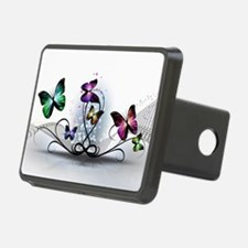 Colorful Butterflies Hitch Cover