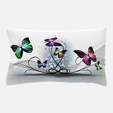 Colorful Butterflies Pillow Case