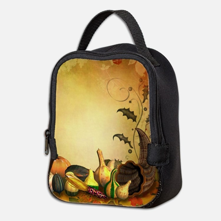 Thanksgiving Neoprene Lunch Bag