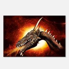 Plasma Dragon Postcards (Package of 8)