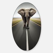 Elephant Trucker Decal