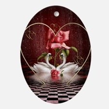 Passion Fantasy Oval Ornament
