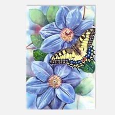 Watercolor Butterfly Postcards (Package of 8)