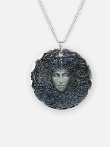 Medusa Cyborg Necklace