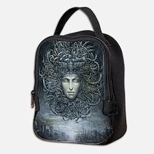 Medusa Cyborg Neoprene Lunch Bag